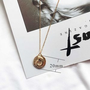 Conch Ocean-style gold metal TA3106 46CM new type Necklace fashion Jewelry