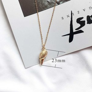 Conch Ocean-style gold metal TA3114 46CM new type Necklace fashion Jewelry