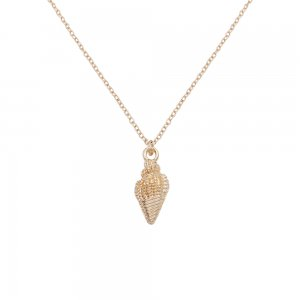 Conch Ocean-style gold metal TA3111 46CM new type Necklace fashion Jewelry