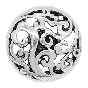 20MM design snap charms Silver Plated KC9237 snaps jewelry