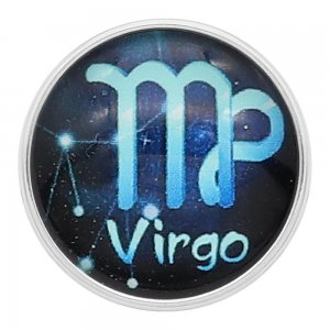 20MM Virgo snap 12constellations glass KC2238