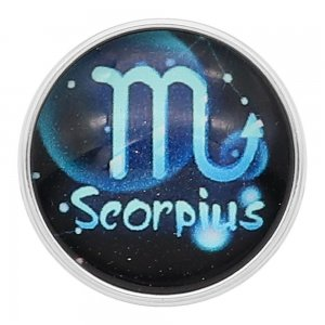 20MM Scorpio snap 12constellations glass KC2240