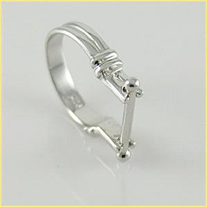 S925 Anillo de plata para cuentas; Bead it ring mother