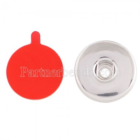 The button base fit 20mm snap Can be attached to wallets, handbags, mobile phones,etc. Silicone adhesive very strong, removed without leaving traces