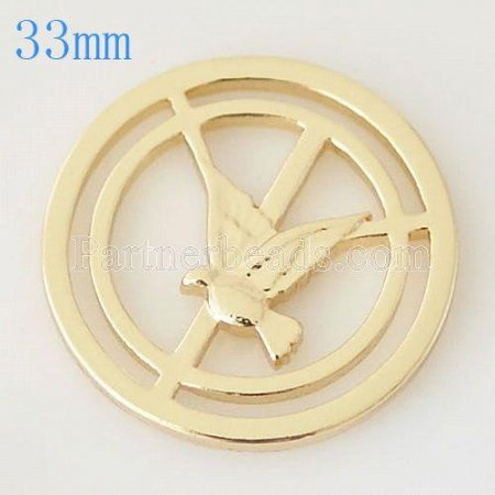 33 mm Alloy Coin fit Locket jewelry type019