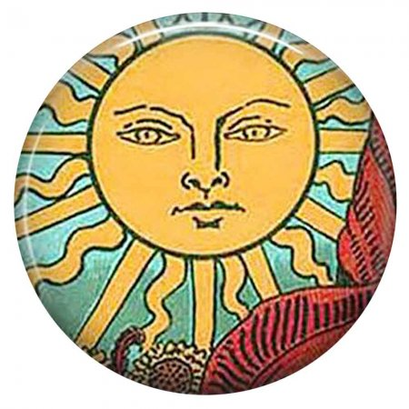 20MM sun Painted enamel metal C5859 print snaps jewelry