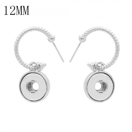 snap earring fit 12MM snaps style jewelry KS1256-S