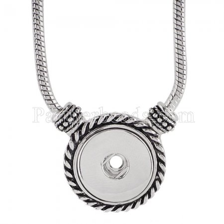45CM Necklace fit 18mm chunks KC0929 snaps jewelry