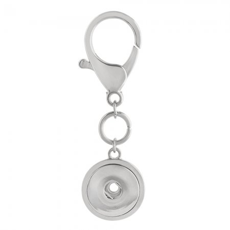 Alloy fashion Keychain with button fit snaps chunks KC1192 Snaps Jewelry