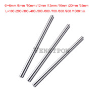 4pcs 6mm 6x200 linear shaft 3d printer 6mm x 200mm Cylinder Liner Rail Linear Shaft axis cnc parts