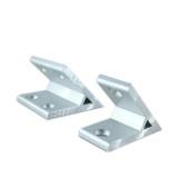 1PC 45 Degree Profile Bracket Industrial High Intensity Corner for 2020 3030 4040 4545 5050 Aluminum Profile