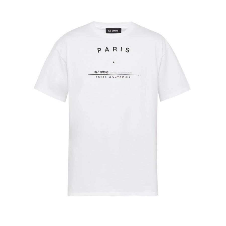 RAF SIMONS Tour T-Shirt Paris