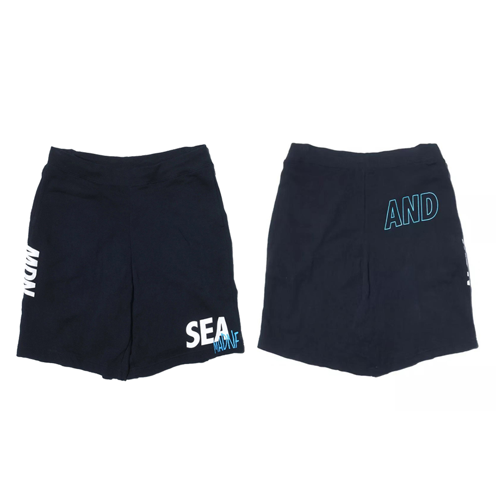 MDNS x WIND AND SEA SWEAT SHORTS