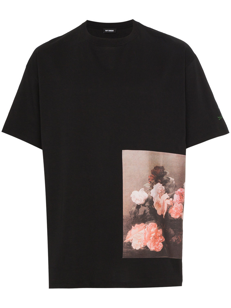 RAF SIMONS - New Order PS Regular Fit Tee