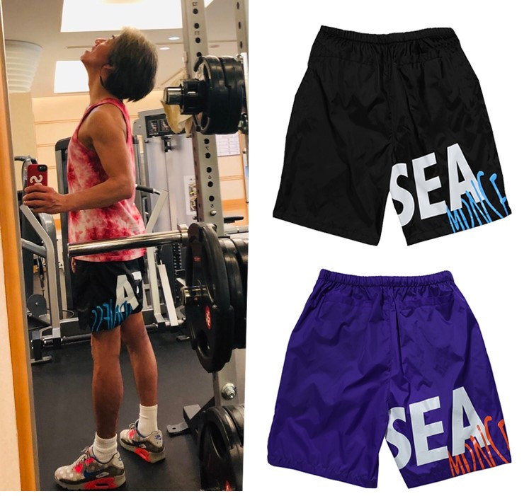 MADNESS x WIND AND SEA PANTS SHORTS