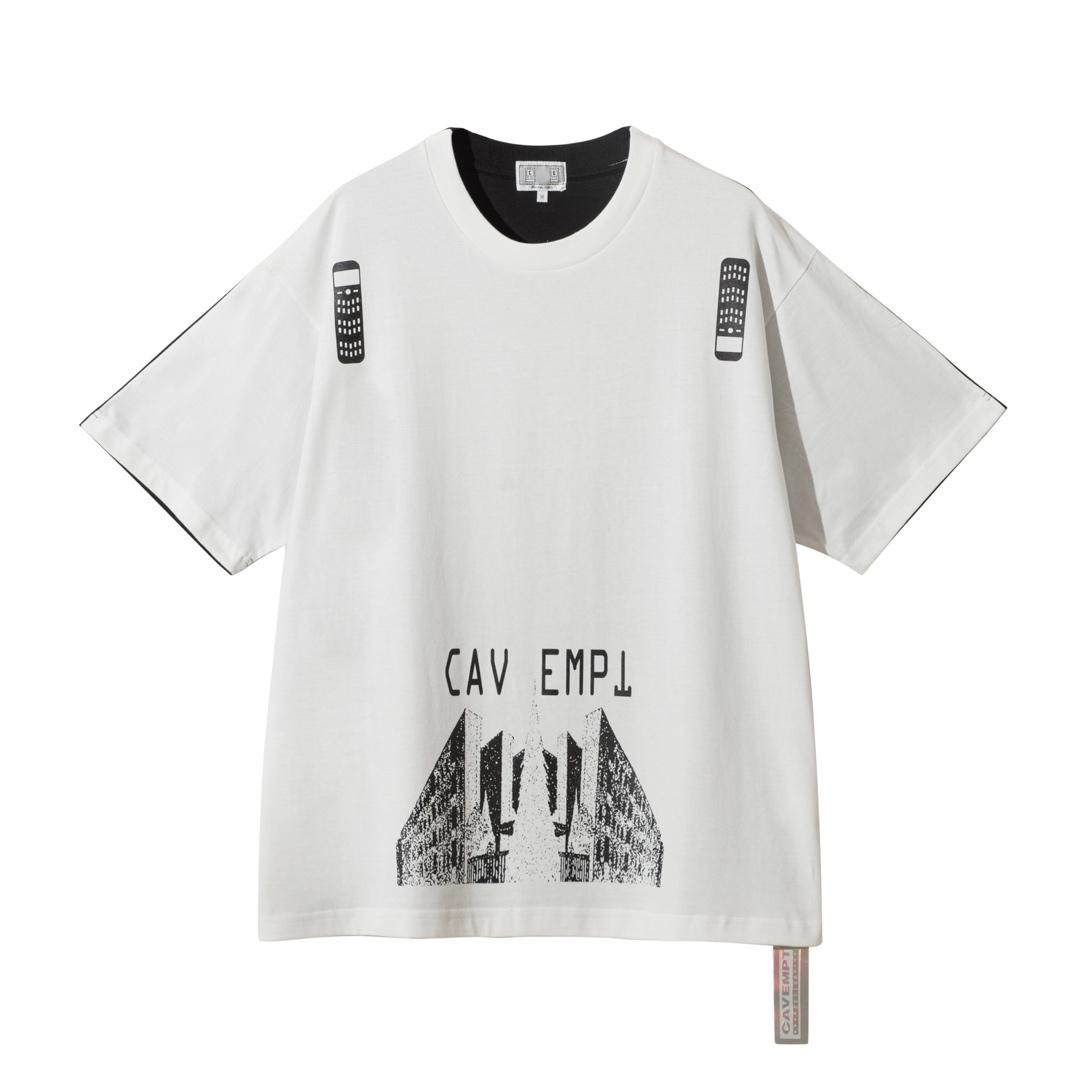 C.E CAVEMPT TWO POINT PERSPECTIVE BIG Tシャツ