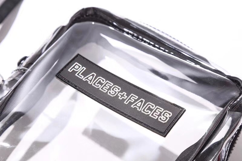 PLACES+FACES / PVC Side Bag / クリア