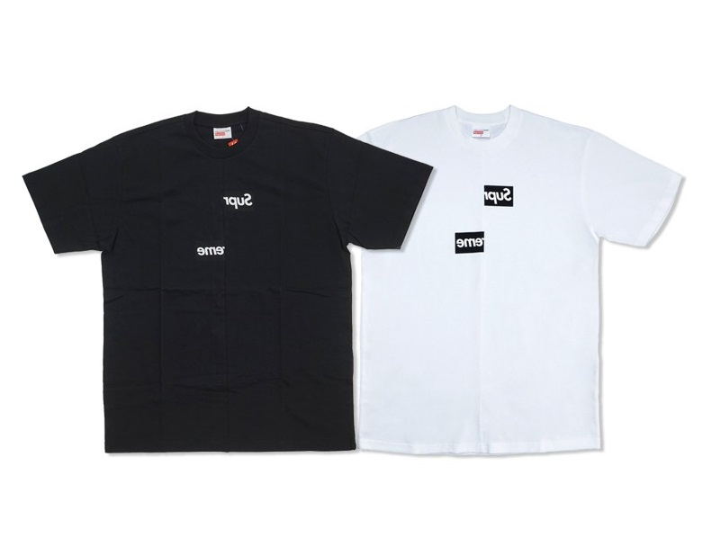 Supreme CDG Split Box Logo Tee Tシャツ