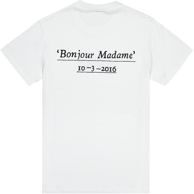 16SS Supreme Paris Box Logo Tee パリオープン記念