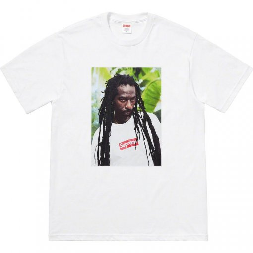 Supreme 19SS Buju Banton Photo Tee