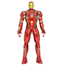 1/6 Scale Iron Man Model 3D Metal Puzzle DIY Figure Statue Cool Collection Stuff Gift for Boyfriend