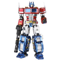 Autobots Transformers Optimus Prime Metal Puzzle Model