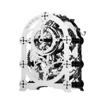 Mechanical Clock  Model Boys DIY Metal Puzzle Assembly Toy