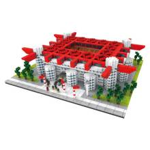 San Siro Stadium Football Play Ground Model Blocks