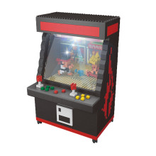 Street Fighter Arcade Game Machine Model Blocks