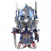 Optimus Prime Autobots Metal Puzzle Model Cute Version-Head Changeable