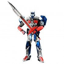Optimus Prime DIY Metal Puzzel Transformers Model Autobots Jigsaw Toys