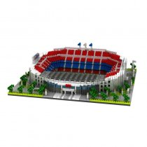 Nou Camp Stadium Football Play Ground Model Blocks