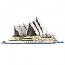 Sydney Opera House Famous Architecture Model Blocks