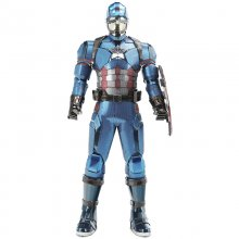 1/6 Scale Captain America Model 3D Metal Puzzle DIY Figure Statue Cool Collection Stuff Birthday Gift for Boyfriend