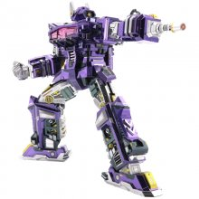 Decepticons ShockBlast Transformers Metal Model Puzzle