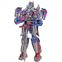 Autobots Transformers Super Optimus Prime Metal  Model