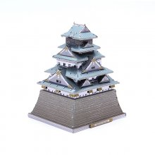 3D Osaka Castle Metal Model DIY Assembly Puzzle for Adult