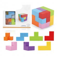 Magic Magnetic Cube Stress Fidget Toys Assembled Block