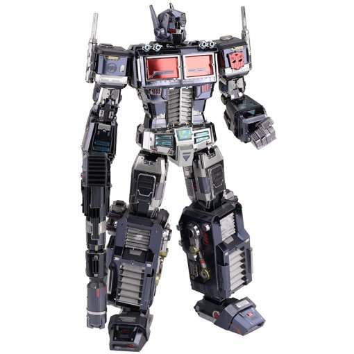 Nemesis Prime Transformers Dark Optimus Prime Metal Puzzle Model