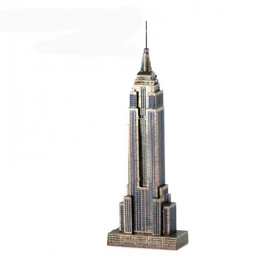 Empire State Building Model Building Kit Adult DIY Metal Puzzle