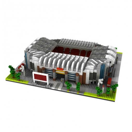 Old Trafford Football Play Ground Model Blocks