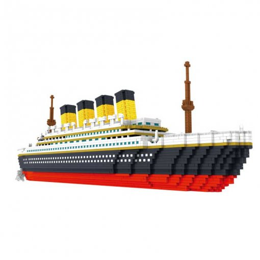 Titanic Model Building Blocks Assembly Toy