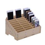 Mobile Phone Stand Holder Tray Slots Storage Box Repair Tool