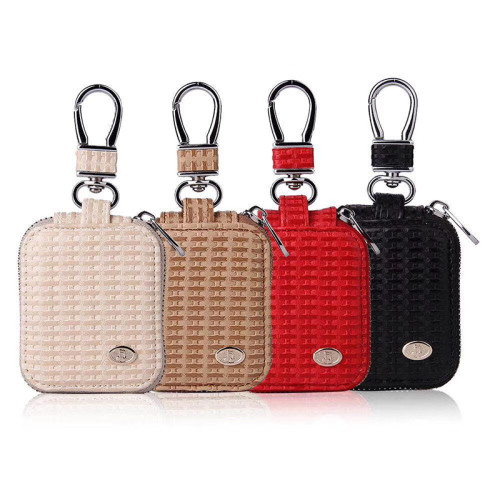 Braided leather protective airpods cases
