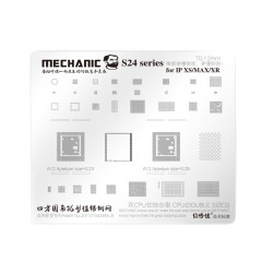 Mechanical Apple iphone6/6P/7/7p8X/XS/XR/XS MAX universal universal plant tin steel mesh S24