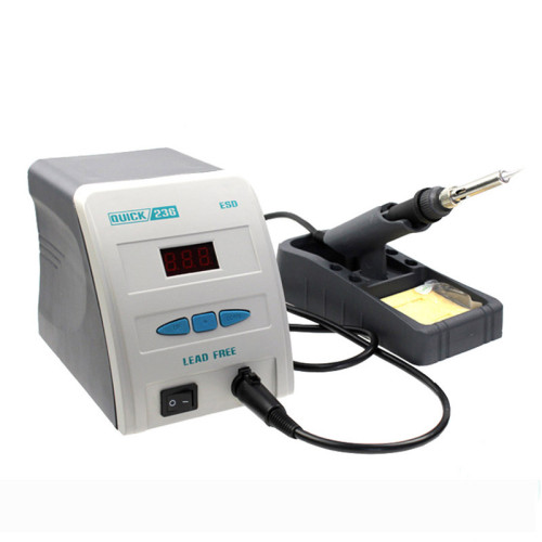 Quick 236 Lead-Free Soldering Iron Station 90w with digital display