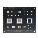 MJ CPU Stencil For Huawei Series BGA Kirin HI CPU WTR WFR dislocation hole