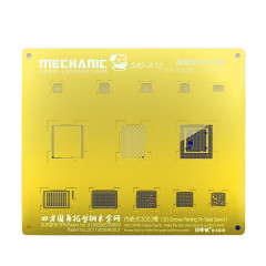 Maintenance steel mesh 3D groove type A8A9A10A11A12 Apple mobile phone multi-use CPU plant tin network S40