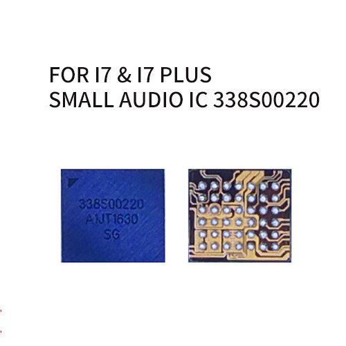 Small Audio IC 338S00220 for iphone 7 7plus