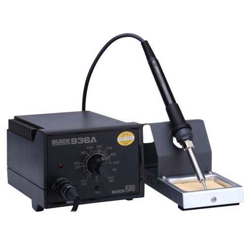 QUICK 936A 220V 60W Constant Temperature Anti-static Soldering Station Solder Iron SMD BGA Welding Rework Station Repair Tools